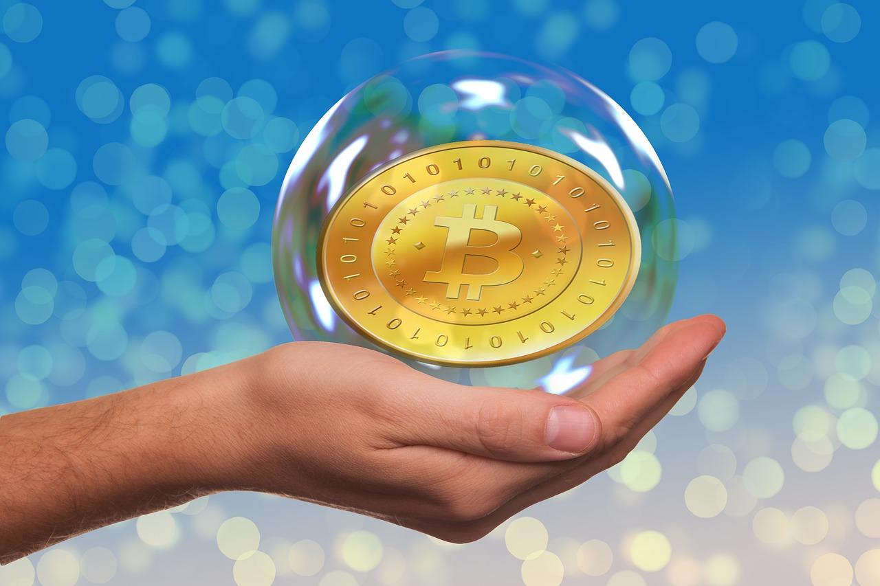 bańka na bitcoinie