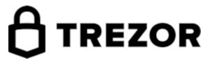 trezor logo białe